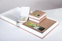 Свадебные фотокниги с обложкой из ткани или кожзама