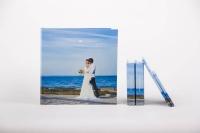 Свадебные фотокниги с фотообложкой.